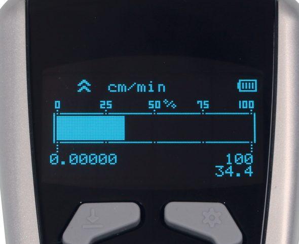 Tachometer DT-2100 mit Bargraph im Display
