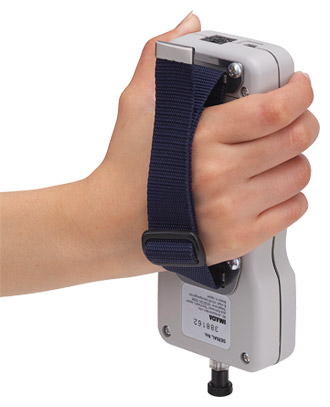 Hand grip belt HGB-1 for force gauges