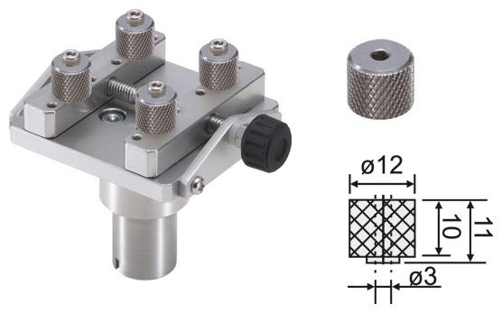Kleiner Spanntisch HT-STL-01 für Drehmomentmesser HTGS und HTGA