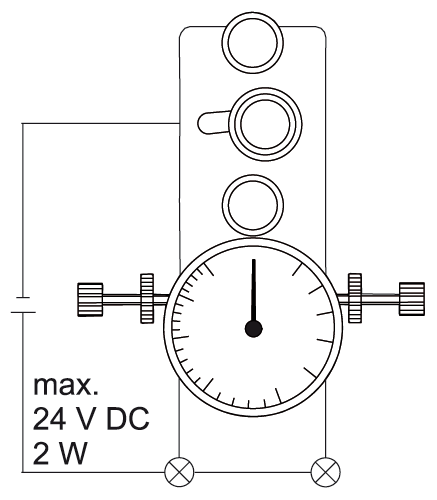 Tension Meter Mk Stationary Mechanical Device
