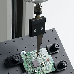 Einspanntisch und Dorn für Druckversuche im 45° Winkel QFP45-100N