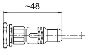 straight cable connection Code N2