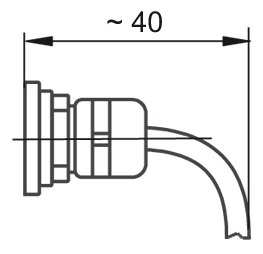 cable connection Code T (standard)