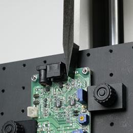 Einspanntisch und Dorn für Scherversuche im 90° Winkel TIP90-100N