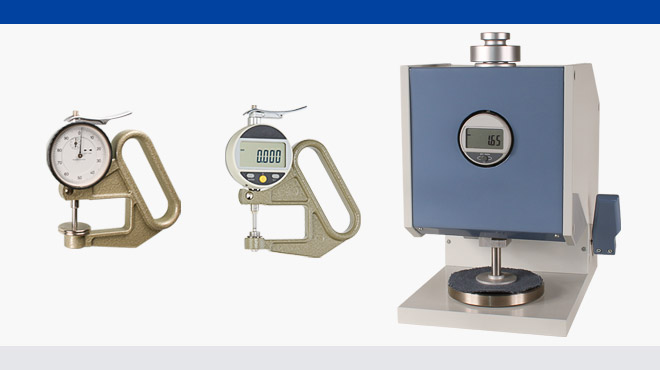 Thickness gauges JA-50, FD-50 and D-2000