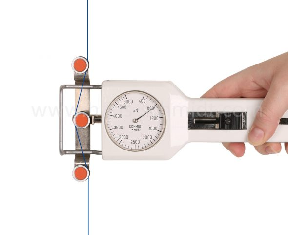 Tension Meter DN1 with inserted material