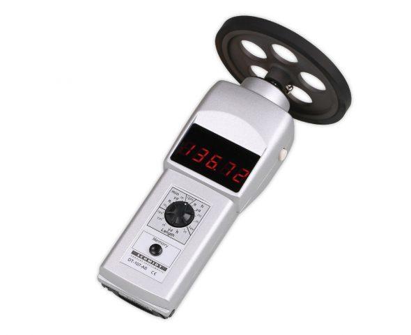Tachometer DT-107AS mit Gummimessrad