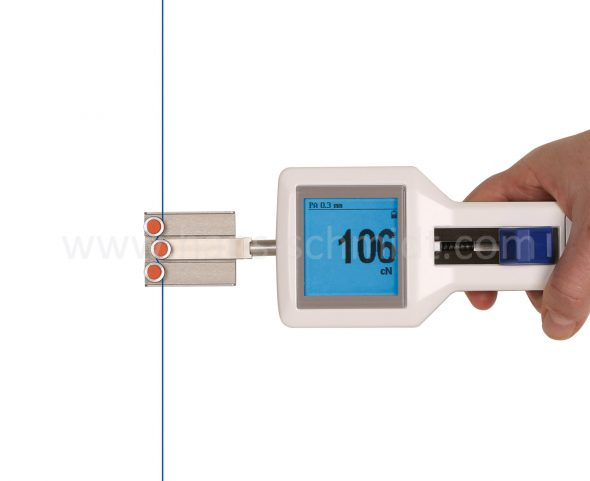 Tension Meter DTSE with inserted material