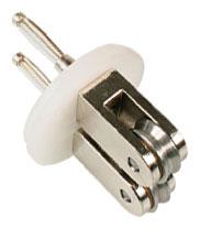 Durchlauf-Eektrode für Textilfeuchigkeitsmesser TEM-I