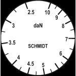 Skala Zugspannungsmesser DX2S-10K