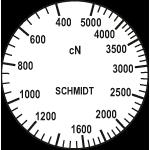 Skala Zugspannungsmesser DX2S-5000