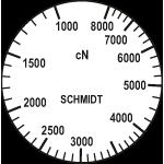 Skala Zugspannungsmesser DX2S-8000