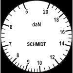 Scale of tension meter DXH-20K-L