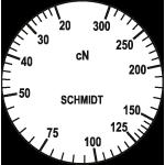Skala des Zugspannungsmesser DXK-300