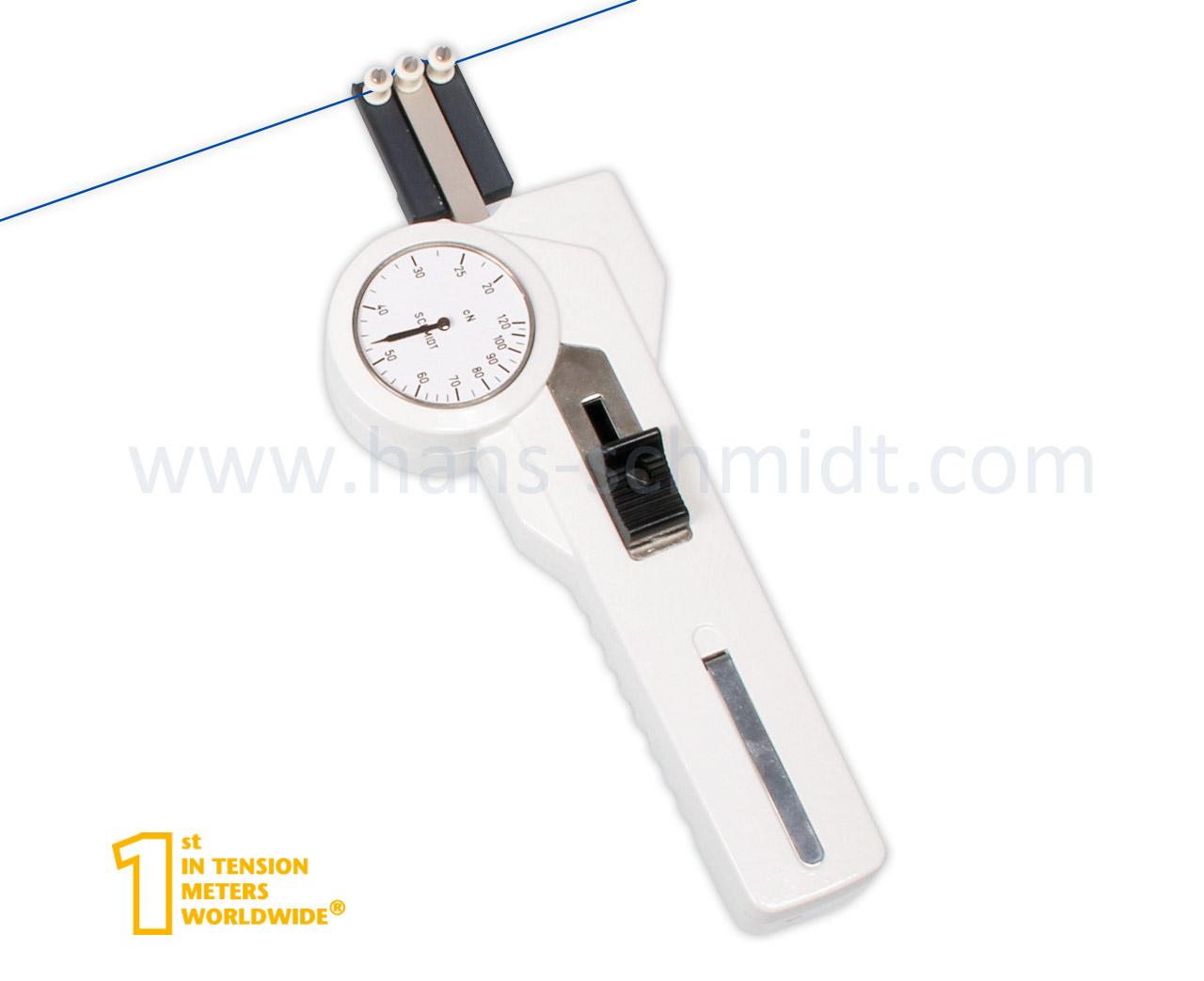 Tension Meter DXP, hand-held mechanical device - Hans Schmidt