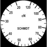 Skala des Zugspannungsmesser DXV-120