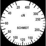 Skala des Zugspannungsmesser DXV-400
