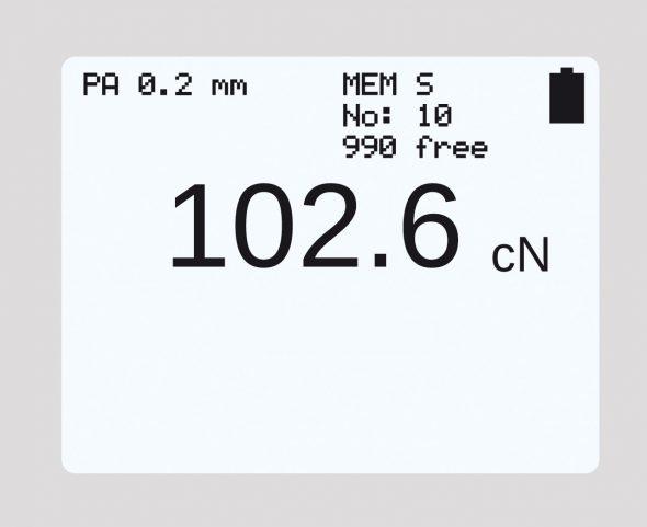 Numerical display tension meter ET series