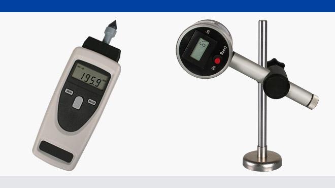 Geschwindigkeits- und Längenmesser YS-20 und LMV