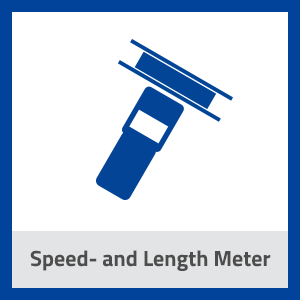 Icon Speed and Length Meter