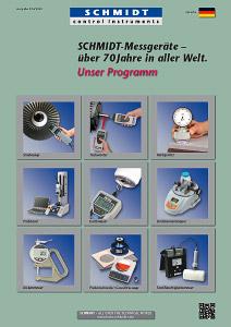 Titleseite Katalog Messgeräte deutsch