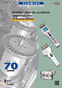 Titel tension meter catalog