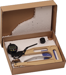 Scope of delivery thickness gauge DD-200