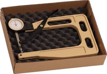 Scope of delivery thickness gauge DM-820-1