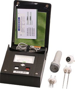 Scope of delivery textile moisture meter TEM H&M package