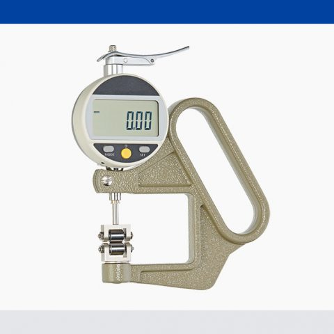 Thickness gauge JD-50-R with rollers without flange