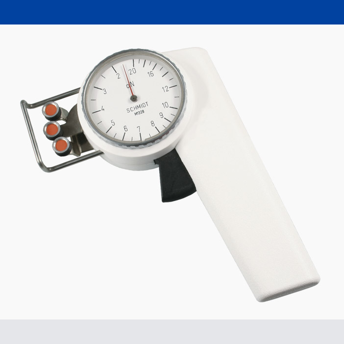 Tension Meter Zf2 Hand Held Mechanical Device Hans Schmidt