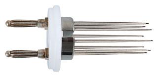 Nadel-Elektrode für Textilfeuchtigkeitsmesser TEM-I
