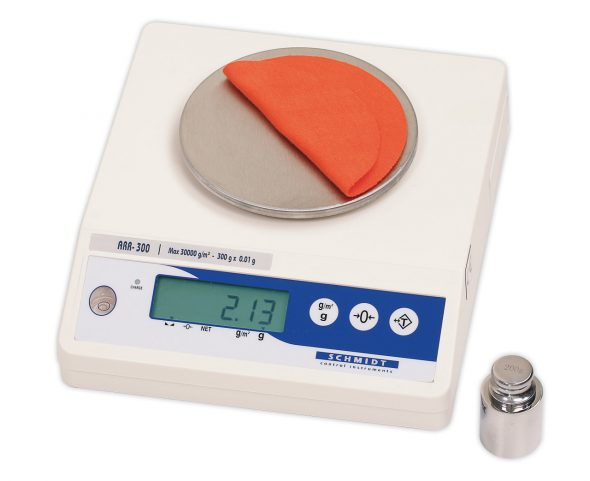 Area Weight Balance ARR-300 with calibration weight