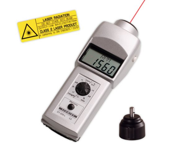 Tachometer DT-205L mit Adapter