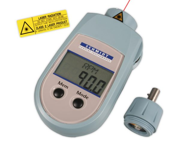 Tachometer PH-200LC mit Adapter und Laser