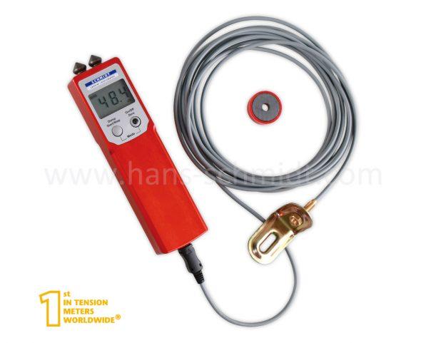 Zugspannungsmeter PT-100-L mit Magnet und Sensor