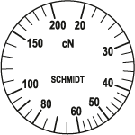 Skala Zugspannungsmesser Q-200