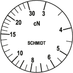 Skala Zugspannungsmesser Q-30