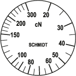 Skala Zugspannungsmesser Q-300