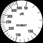Skala Zugspannungsmesser Q-500