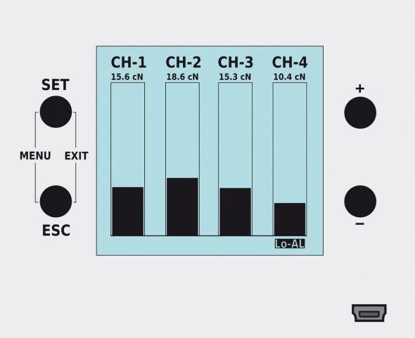 Display Anzeige SC-PM4