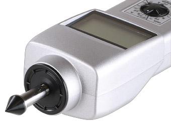 Tachometer DT-105AS mit Spitzmitnehmer