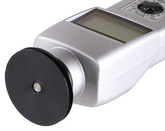 Tachometer DT-105A mit 6 Inch Nutenmessrad