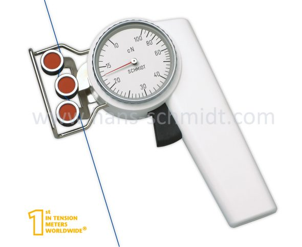 Tension meter ZD2-100 with inserted material