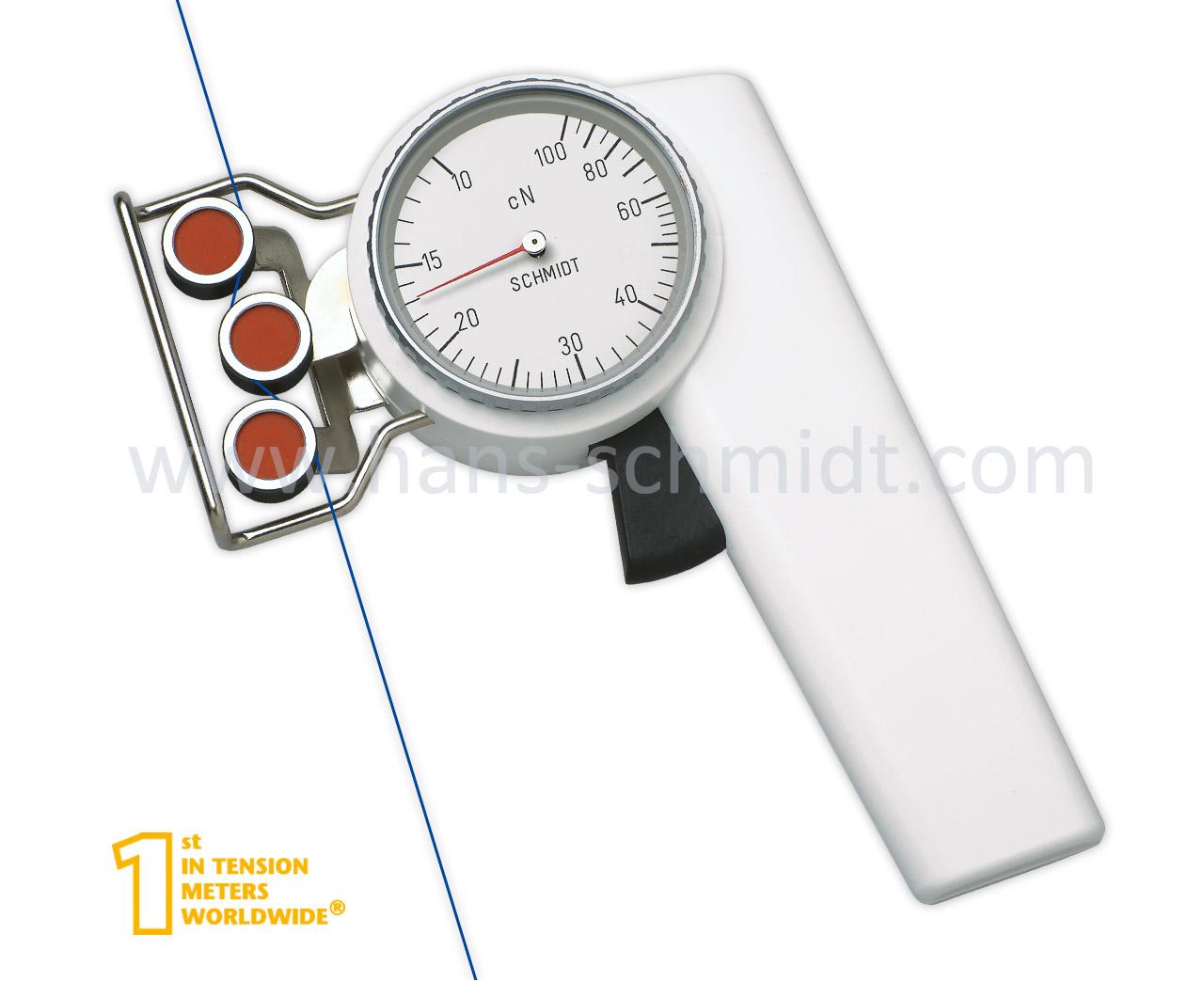 Tension Meter ZD2, hand-held mechanical device - Hans Schmidt