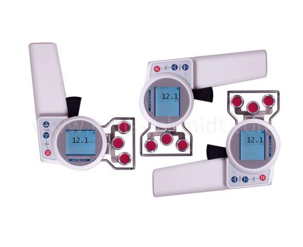 Zugspannungsmesser ZED mit gedrehtem Display