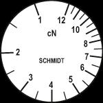 Skala des Zugspannungsmessers ZF2-12