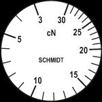 Skala des Zugspannungsmessers ZF2-30