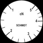 Skala des Zugspannungsmesser ZF2-5