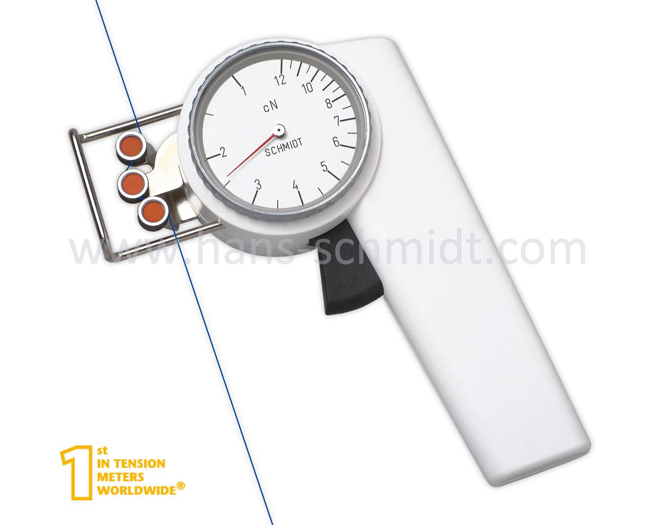 Tension Meter ZF2, hand-held mechanical device - Hans Schmidt